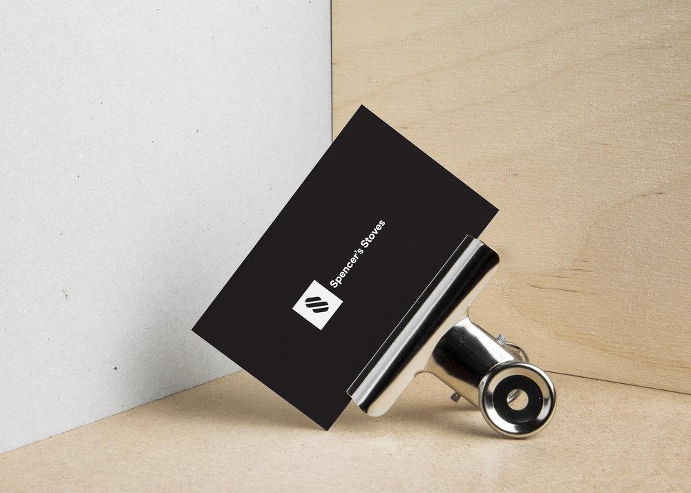 Spencer's Stoves — Logo & Website Design