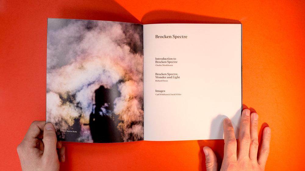 Charles Monkhouse — Brochure Design
