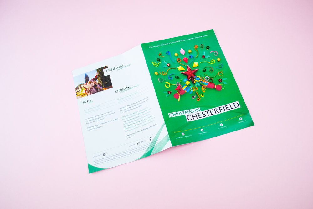 Destination Chesterfield — Fold Out Brochure