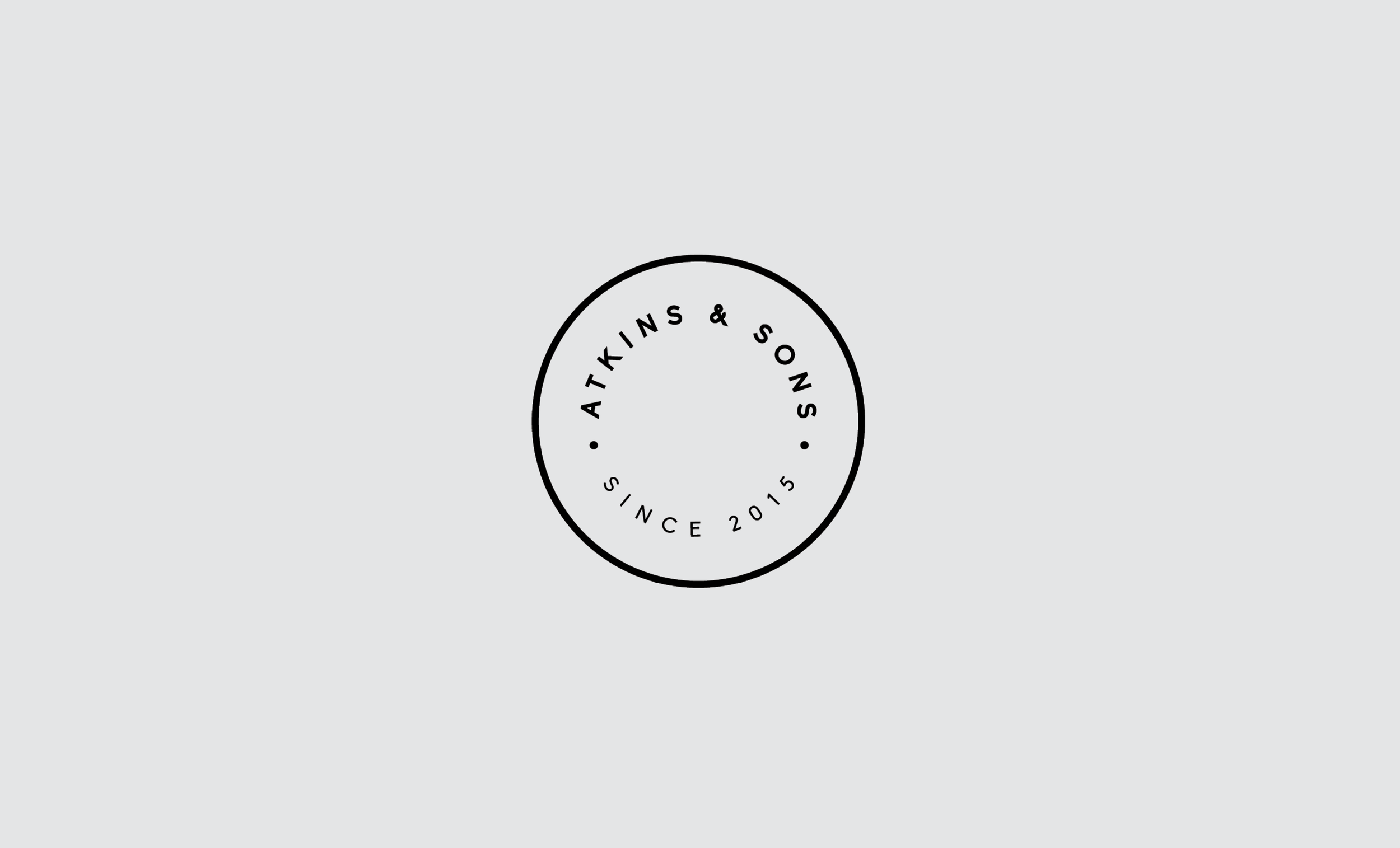 Atkins & Sons — Logo Design