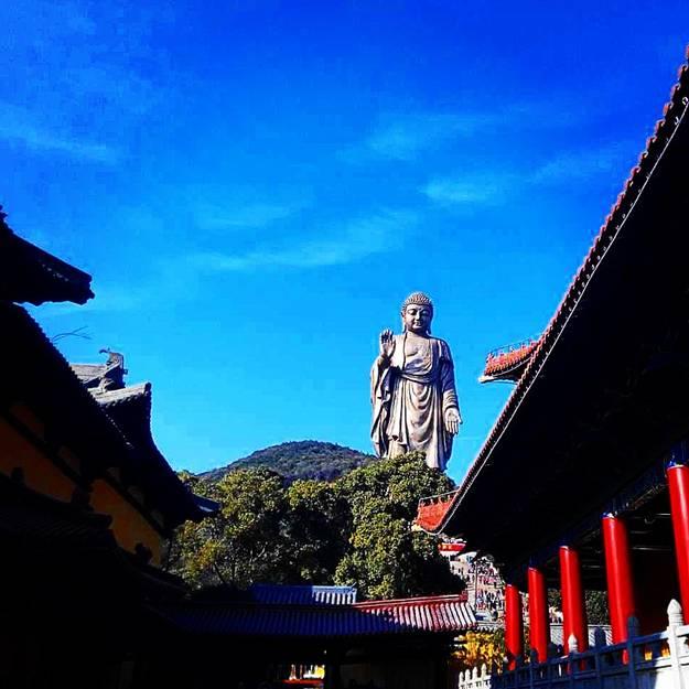 (Photo: Big Buddha is always watching- Wuxi, China)