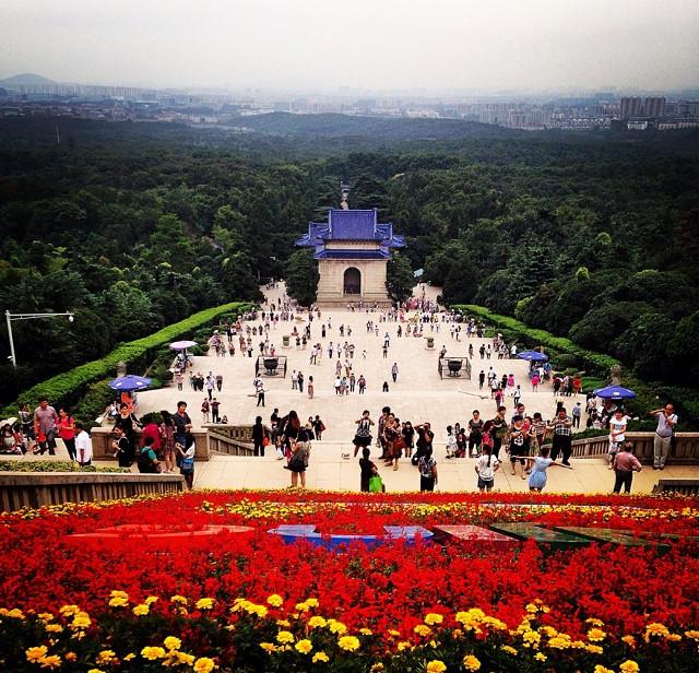 (Photo: Sun Yat-sen's Mausoleum, Nanjing)