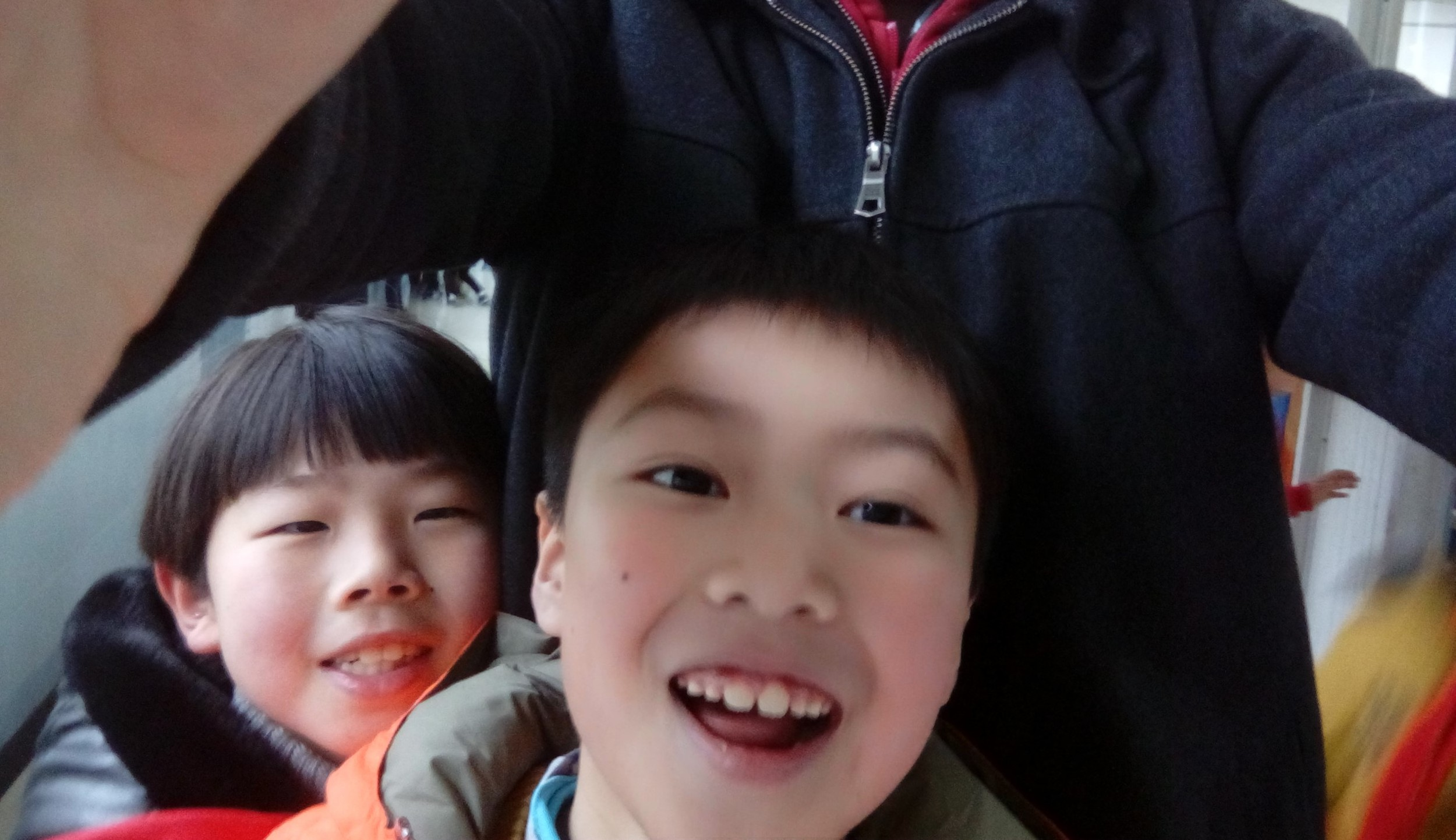 My students are too small to take proper selfies with!