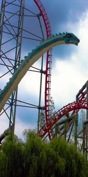 Dinosaur Amusement Park