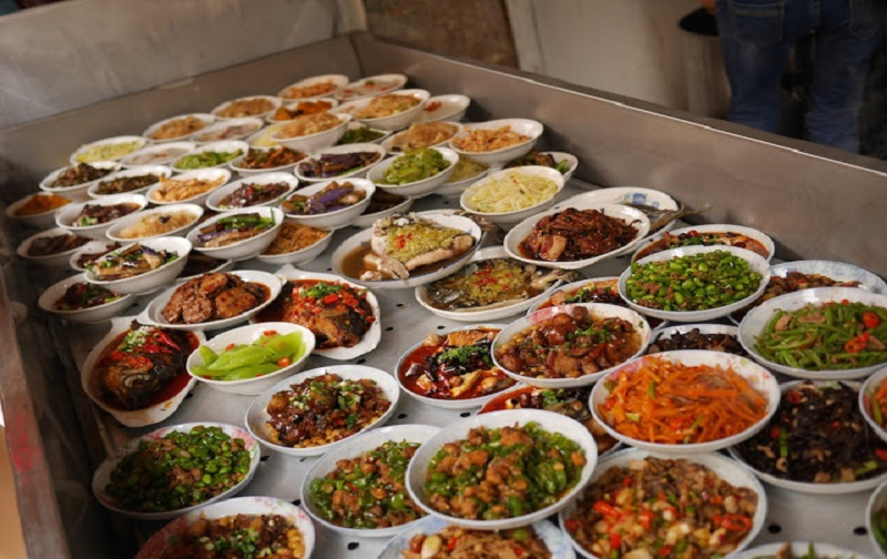 The wide variety of street food found in Changsha