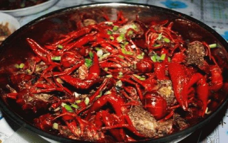 A crayfish pot found in Changsha
