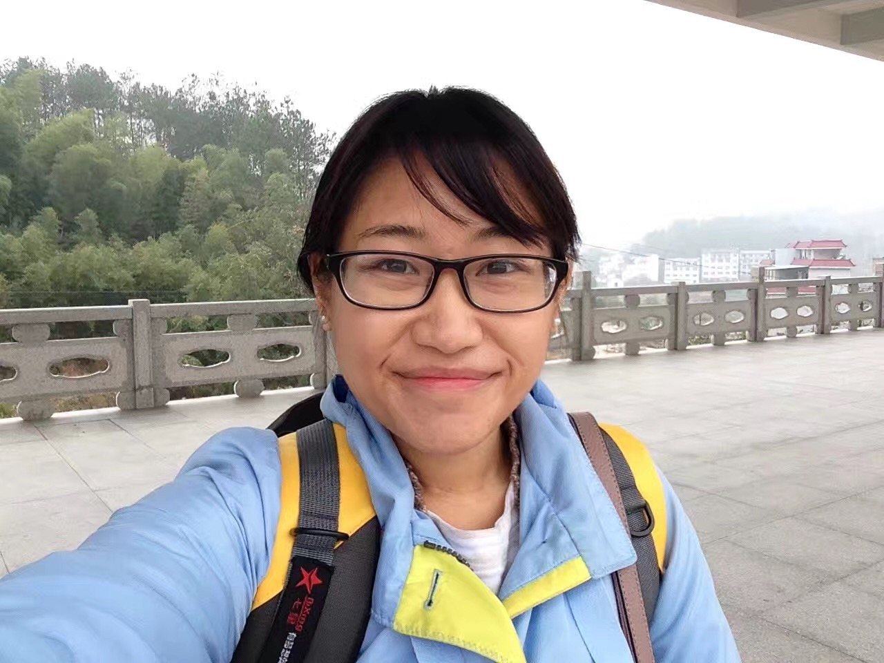 EA Panny from Lishui off on another adventure