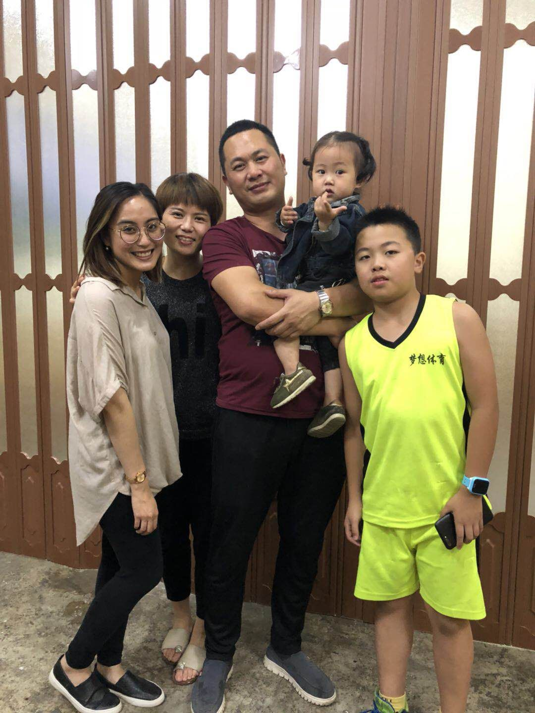 Shannen and Yoyo's family