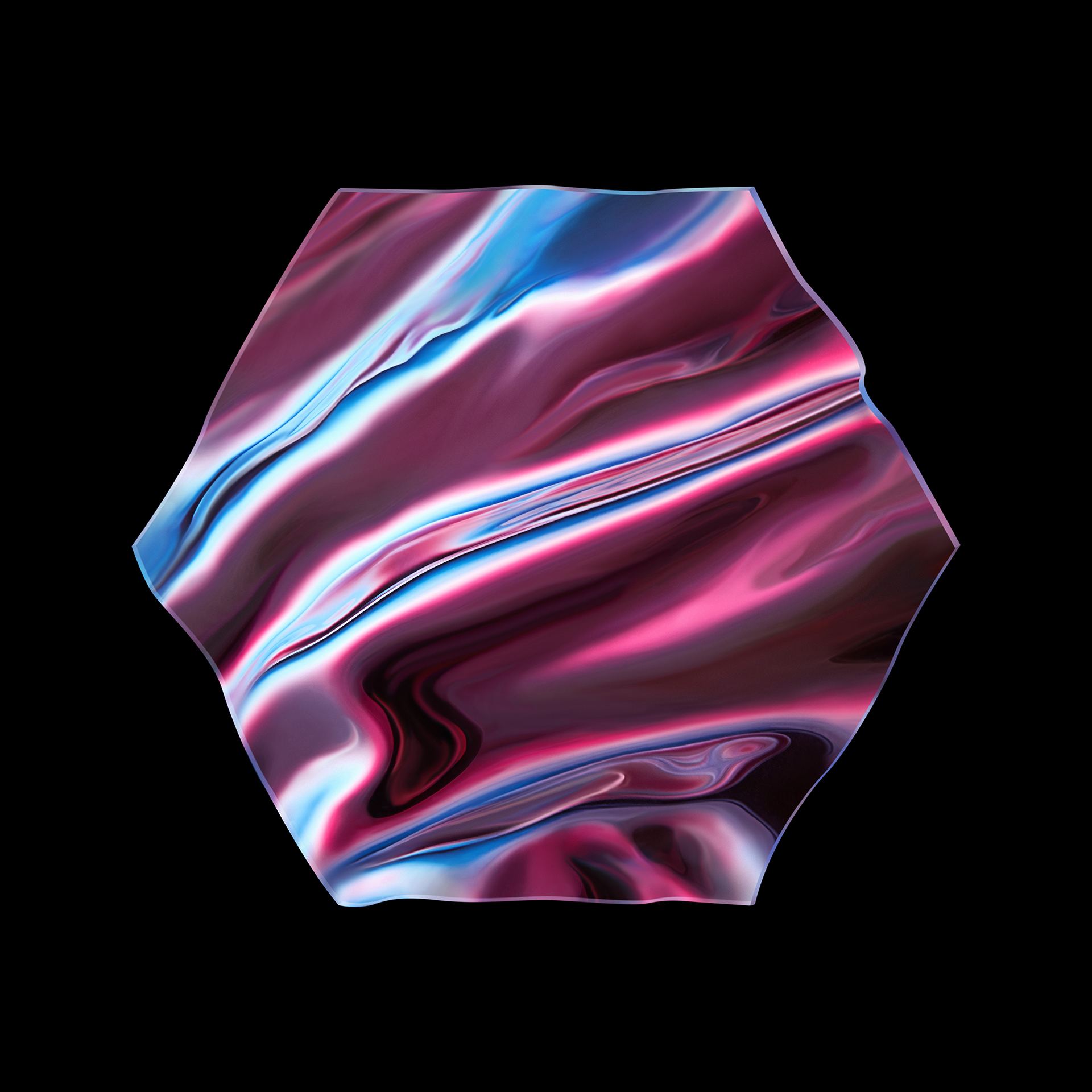 wavy-shape-melted-plastic-still-life-photographer-london-hexagon