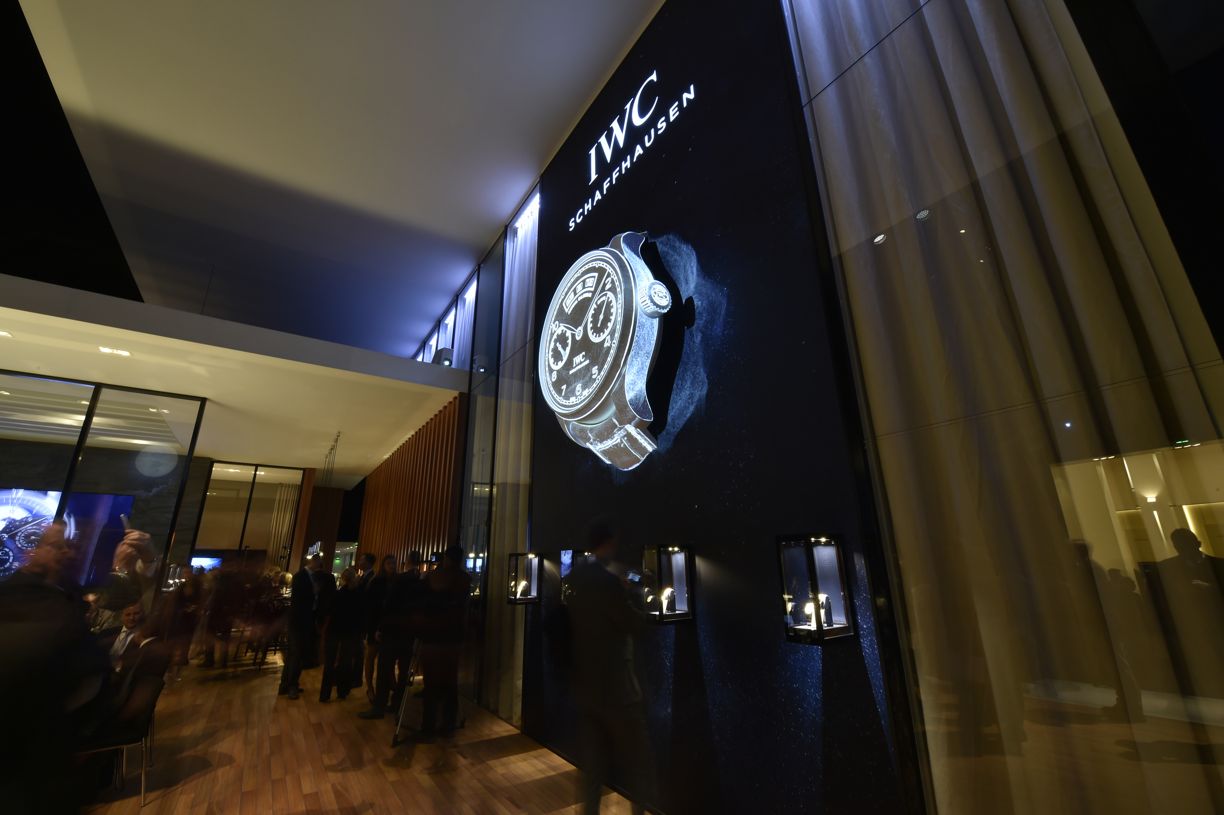 The level of sophistication and design in these booths is out of this world. Photo courtesy of SIHH.org