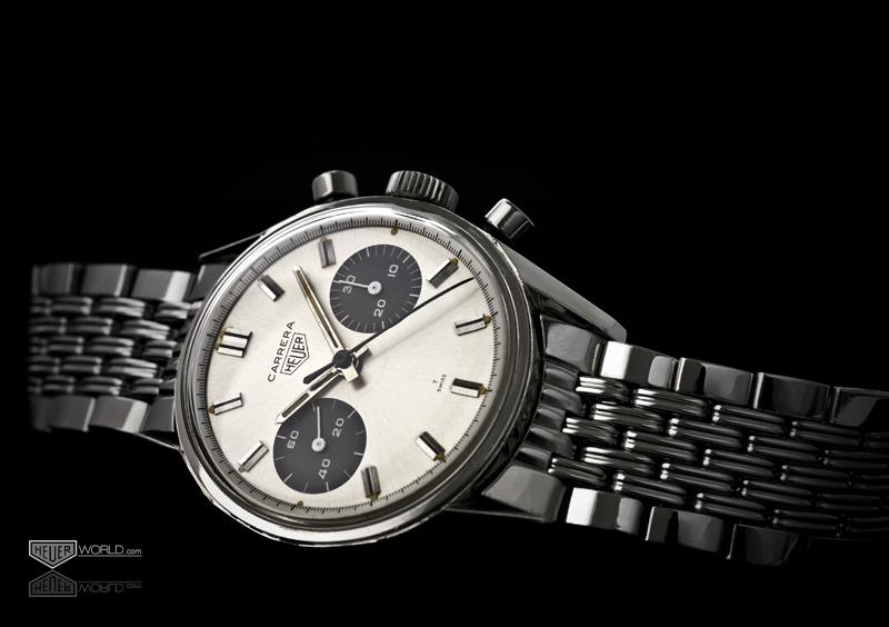 One of the most beautiful watches TAG Heuer have produced, the 7753. Photograph courtesy for Paul Gavin, www.heuerworld.com