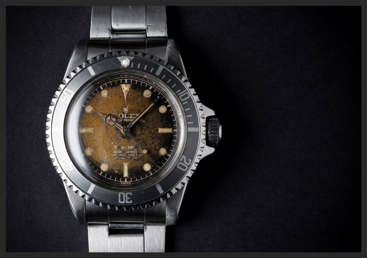 A 1962 Rolex Submariner 5512. Photograph Courtesy of  Watches of Knightsbridge .