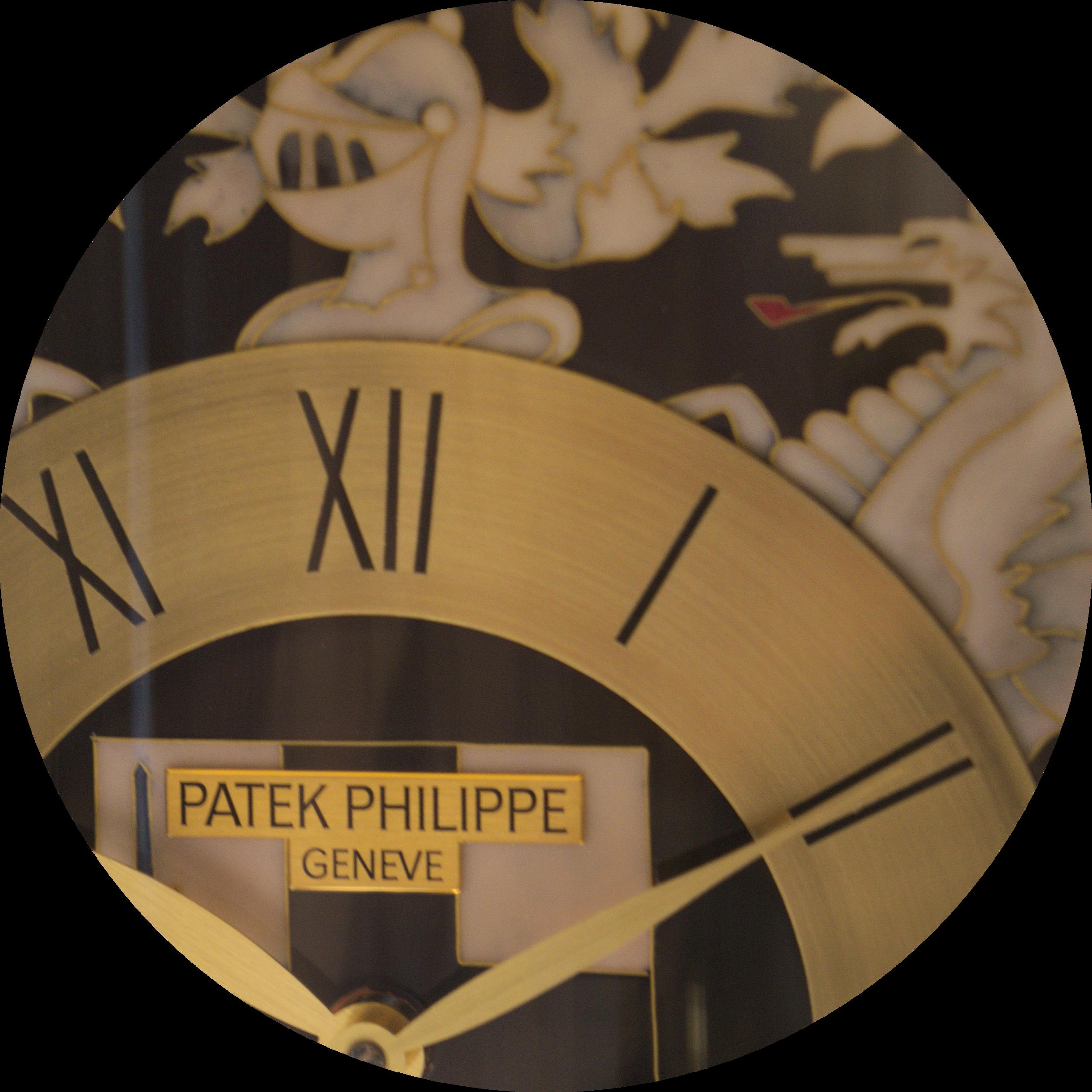 "Patek Dome Table Clock ""Old London"""
