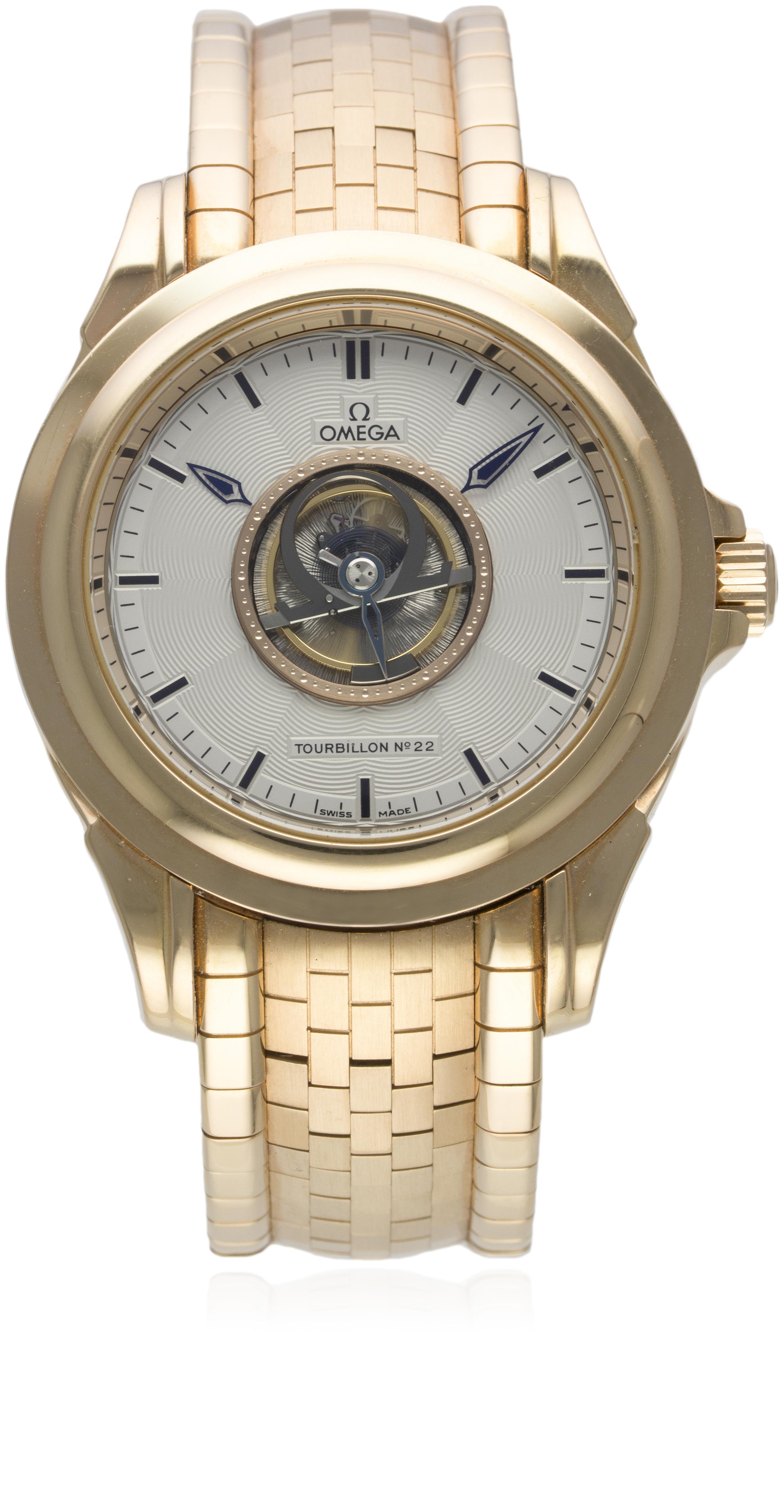 Lot 187 - Omega Central Tourbillon Chronometer