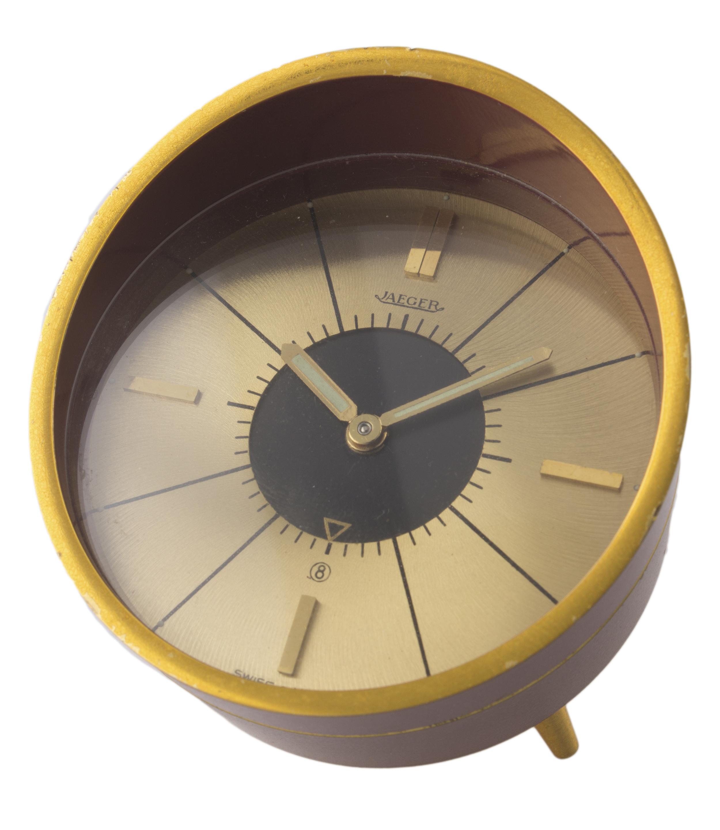 Lot 447 - Jaeger Le Coultre Space Age Desk Clock