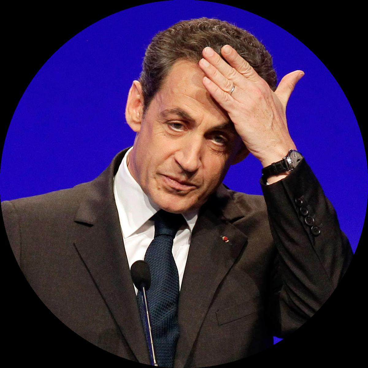 Ex President of France Nicolas Sarkozy wearing a Patek Philippe Ref.3940