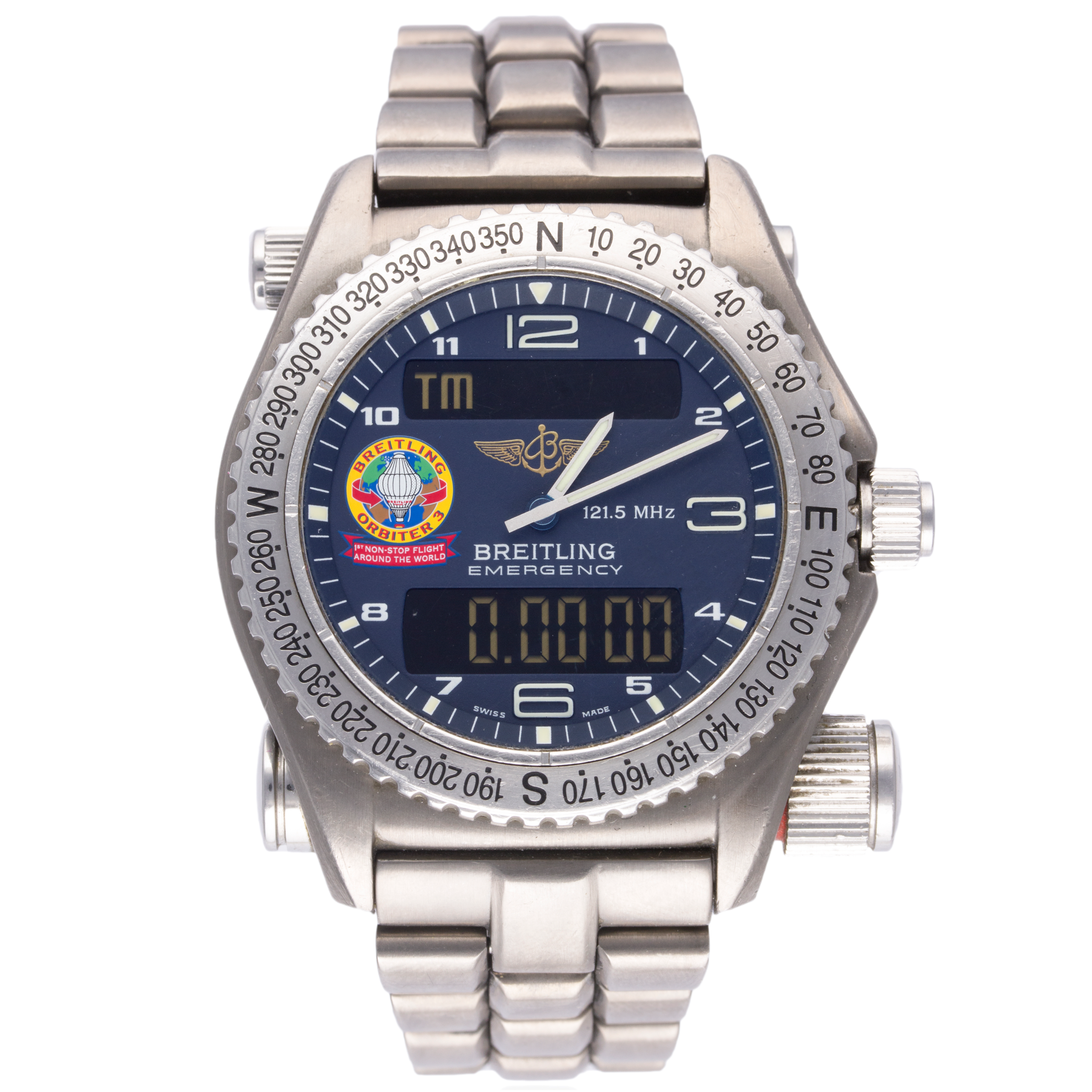 Lot 19 - Breitling Emergency Orbiter 3 Limited Edition