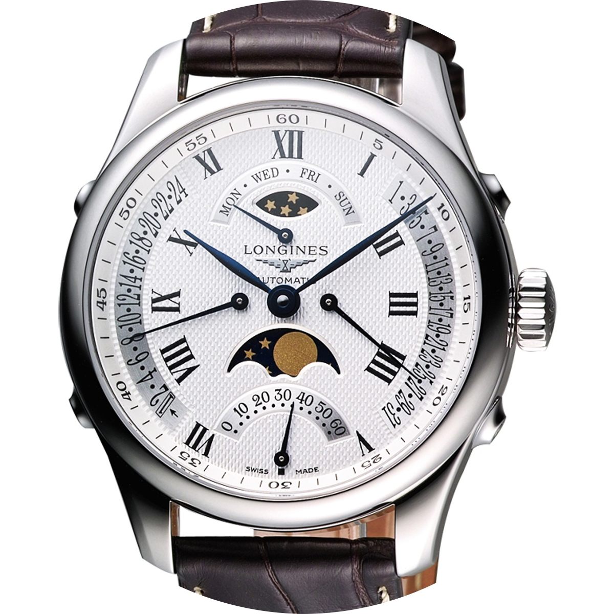 Longines Master Collection 41mm retrograde moonphase, Ref. L27385713