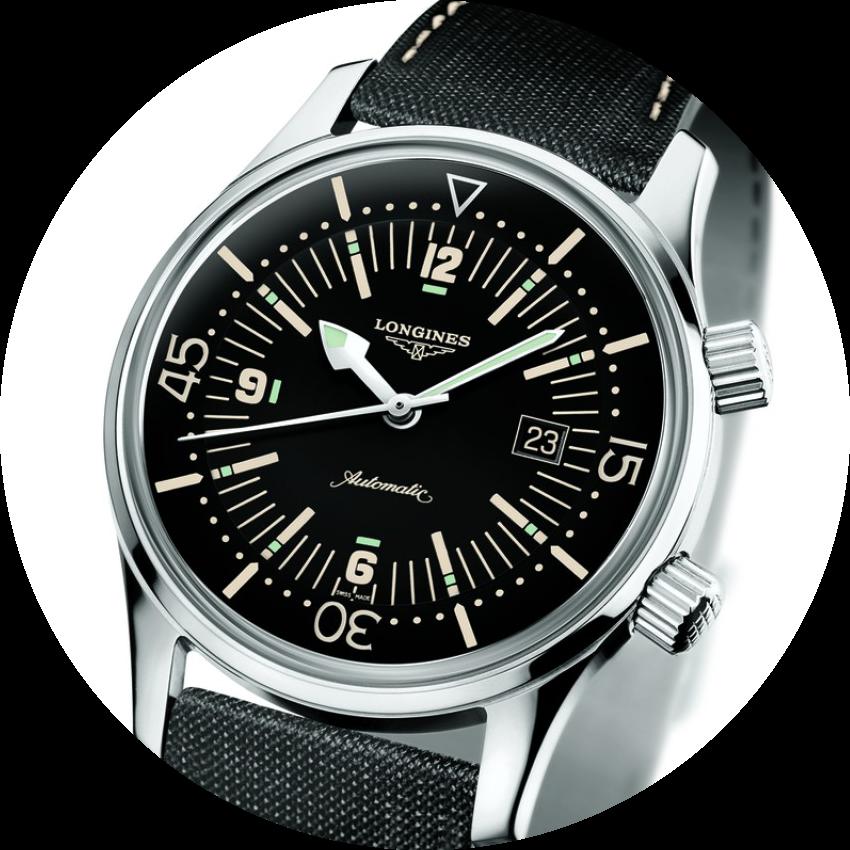 Longines Heritage Legend Diver, Ref. L36744509