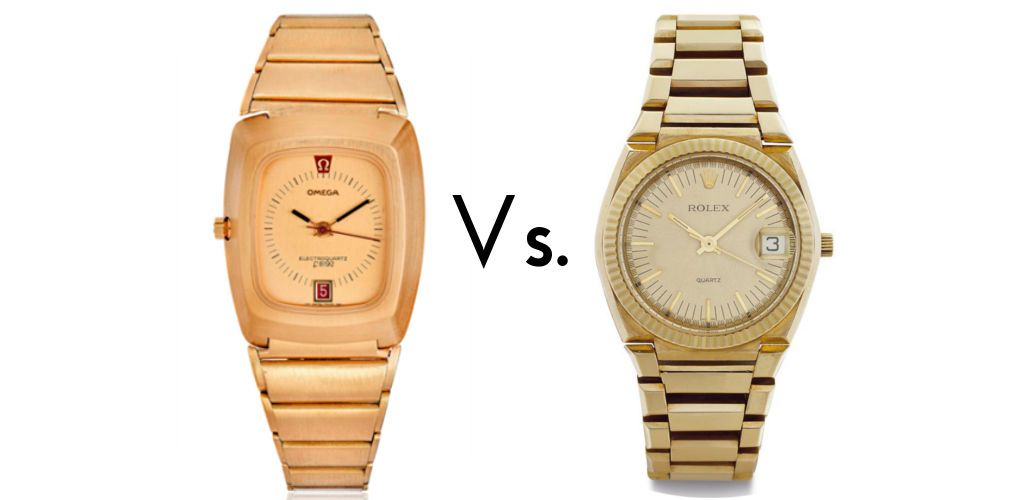 Both of these watches are currently available for sale at analog/shift.   click here for the Omega   and   here for the Rolex