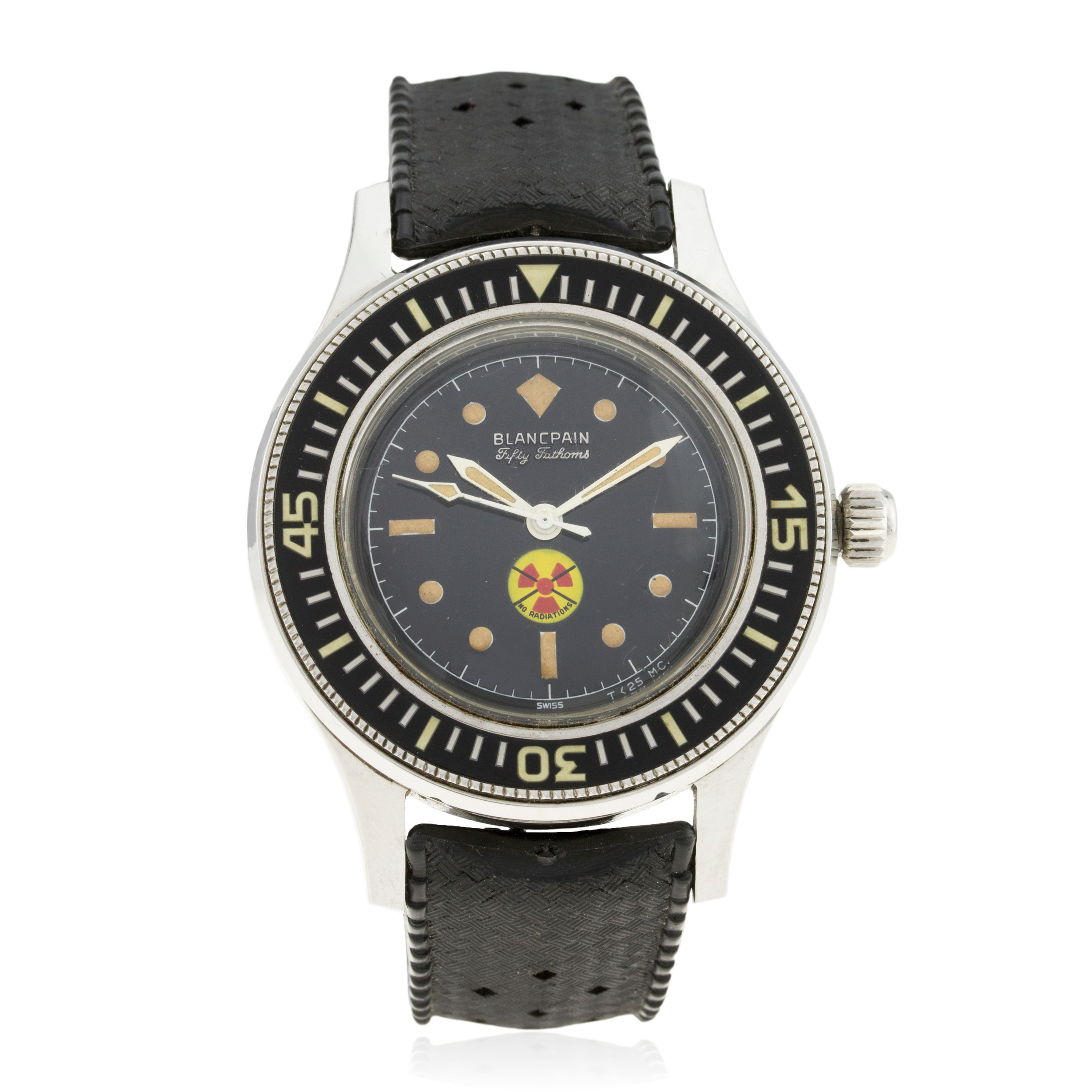 Lot 7- Blancpain Fifty Fathoms - SOLD 12,000GBP