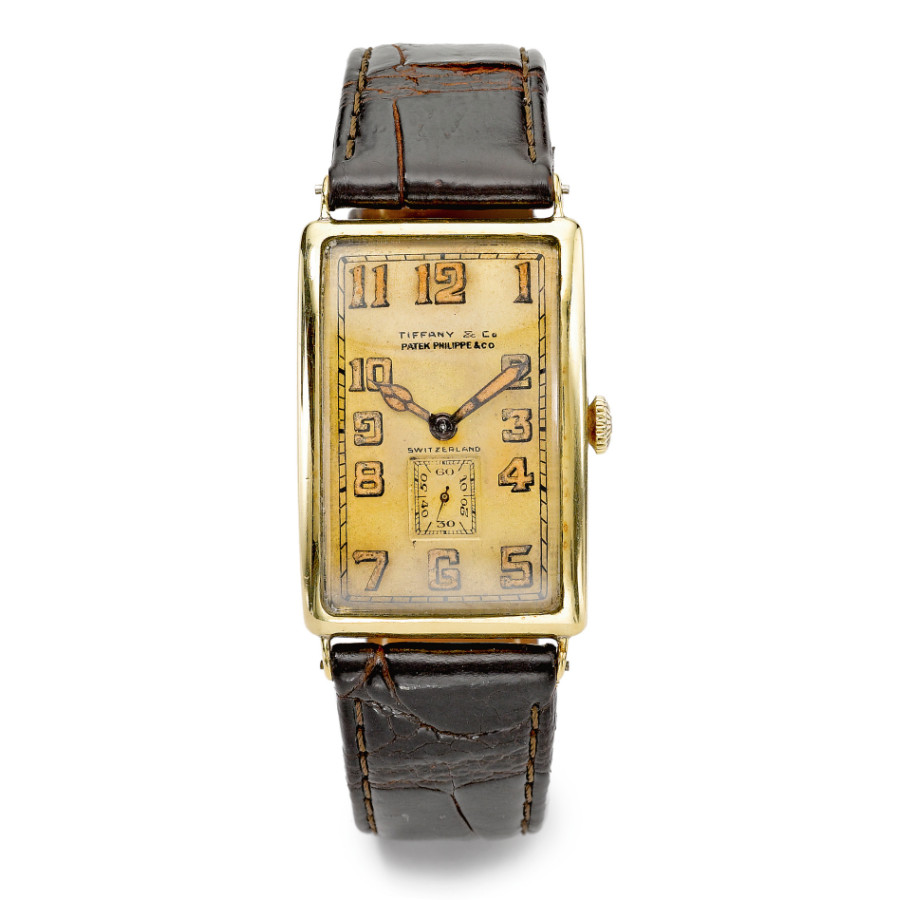 A double-signed Patek Philippe & Tiffany & Co. wristwatch, circa 1925