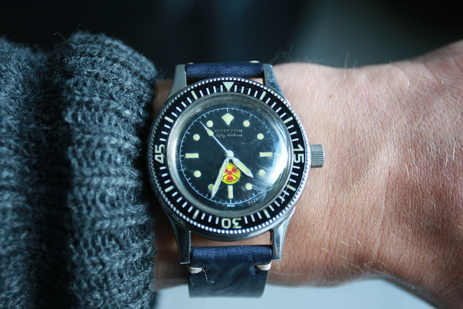 A Brief History Of The Blancpain Fifty Fathoms Timepiece Chronicle