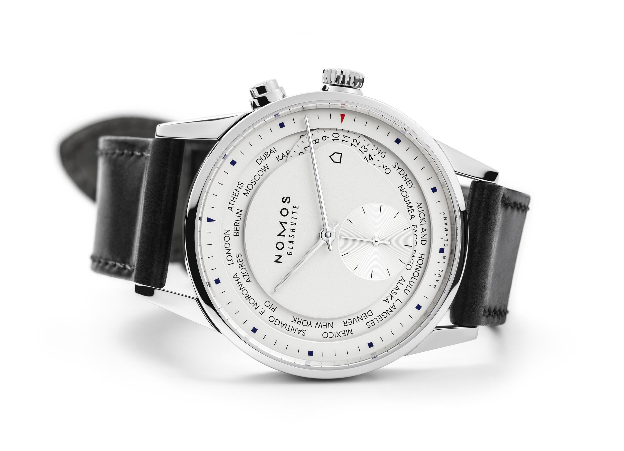 The Nomos Zurich World Timer