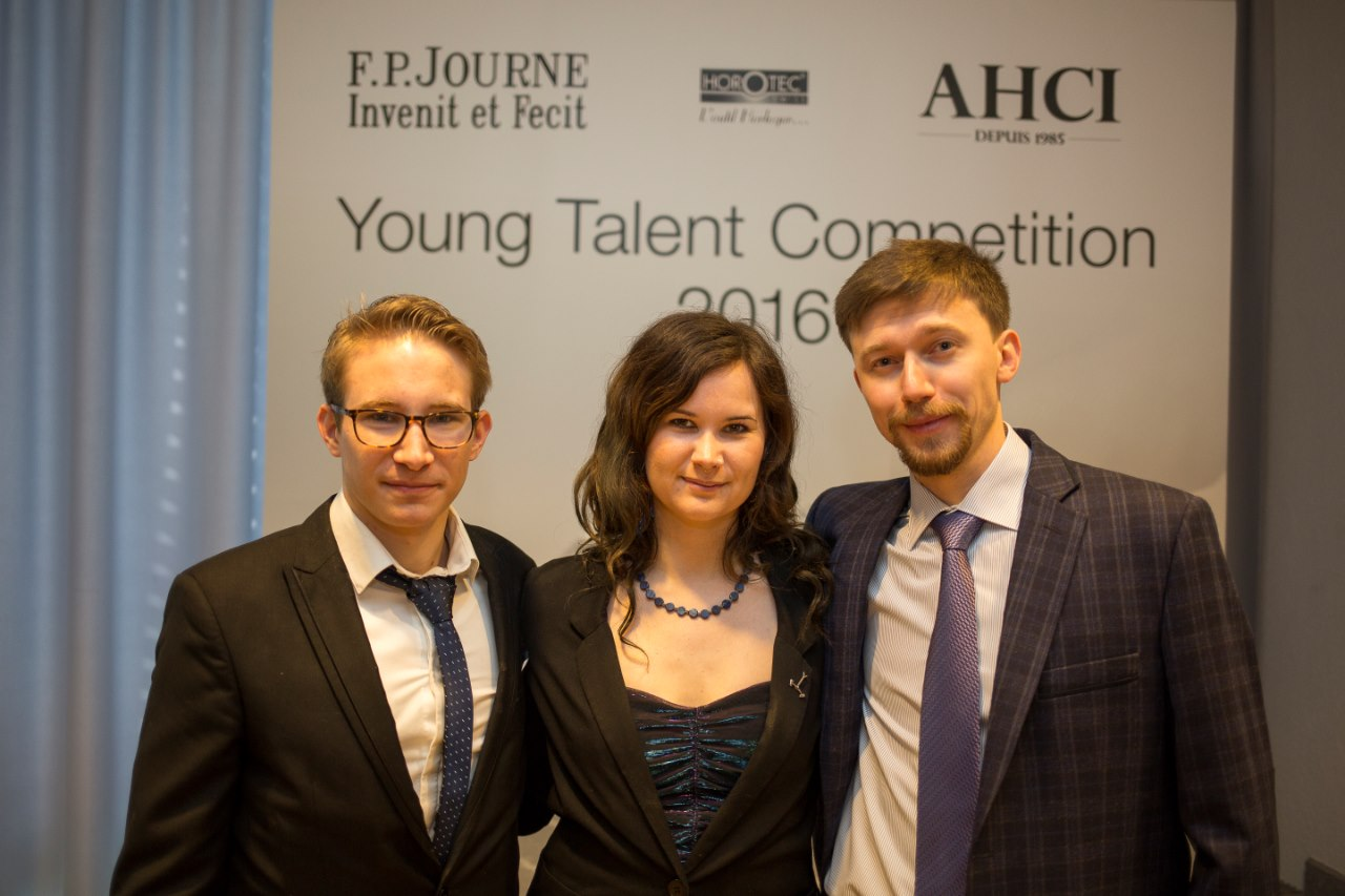 The winners of the Young Talent Competition 2016. Photo courtesy of the AHCI.