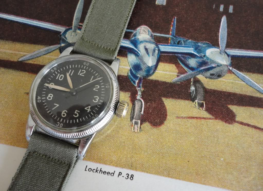Waltham A-11 Hacking movement watch. Photo courtesy of hq_sandman_ute.