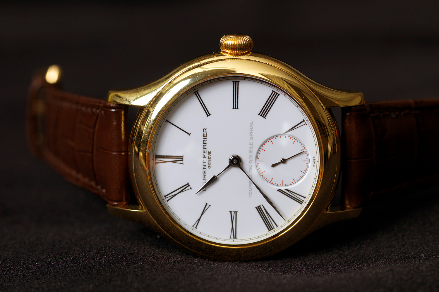 The Laurent Ferrier Tourbillon Double Spiral. Photo courtesy of Laurent Ferrier.
