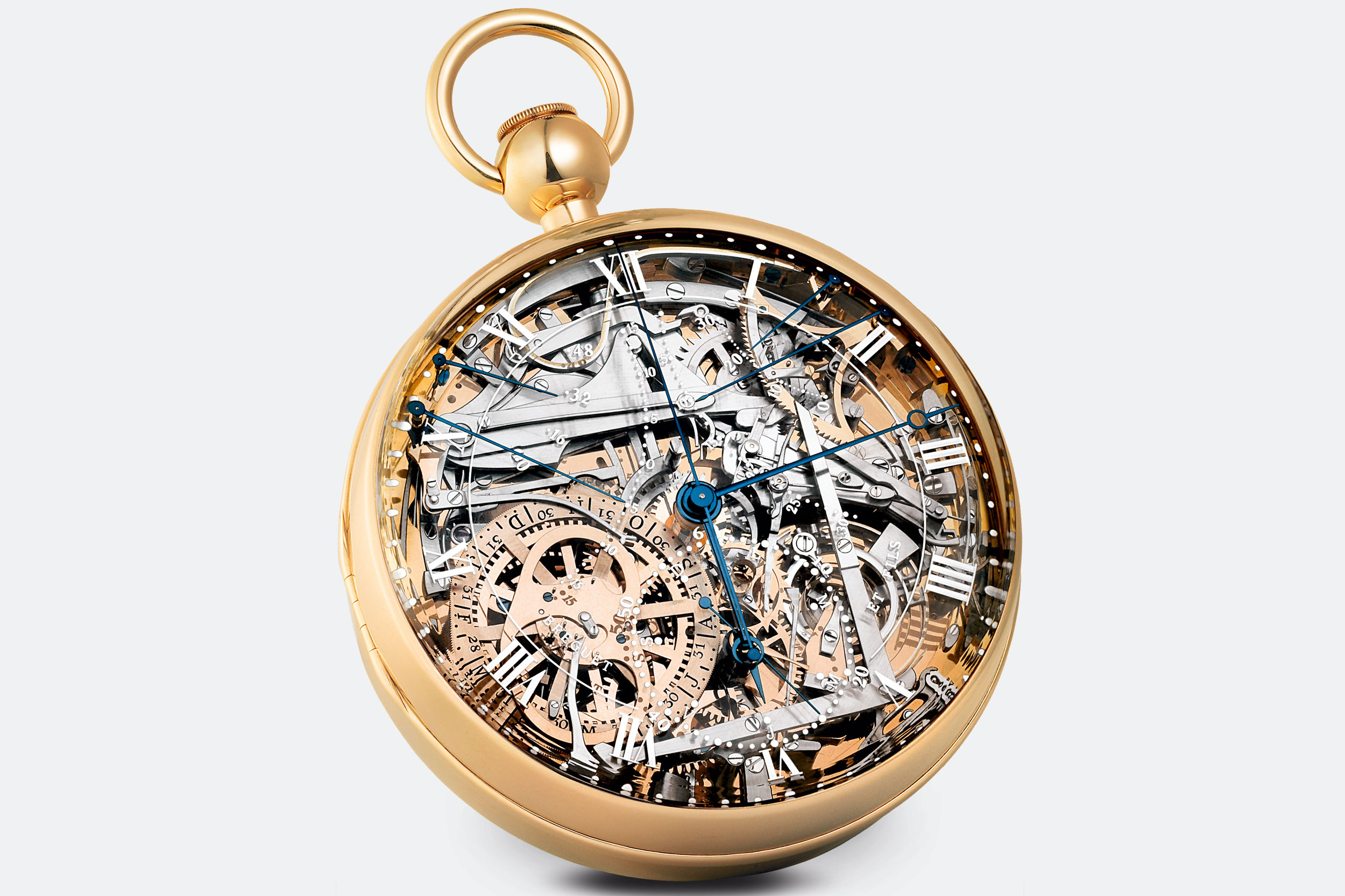 The modern replica of the Breguet 'Marie Antoinette' watch. Photo courtesy of Breguet.