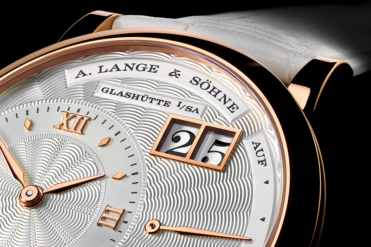 The A. Lange & Sohne Little Lange 1. Photo courtesy of A. Lange & Sohne.