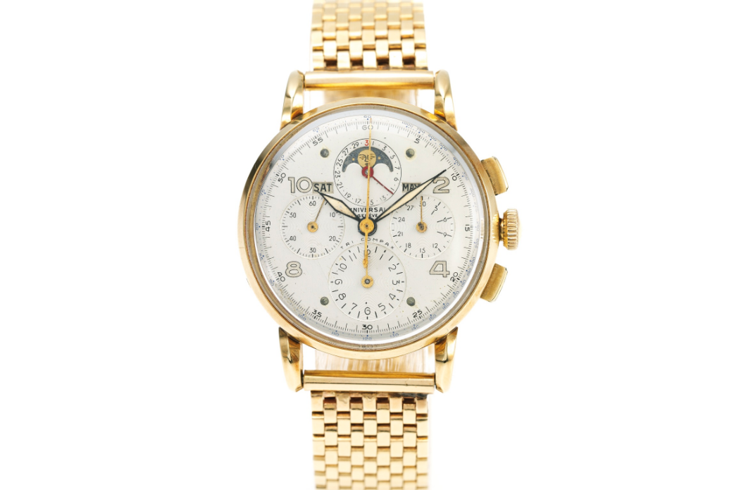 Universal Geneve Tri-Compax Re. 52216. Photo courtesy of Sotheby's.