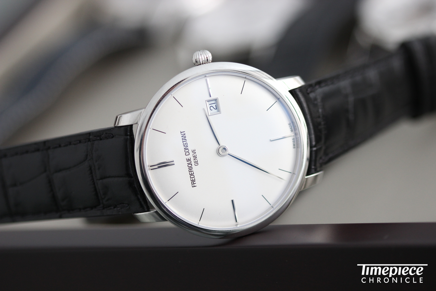 Frederique Constant time only dress watch.JPG