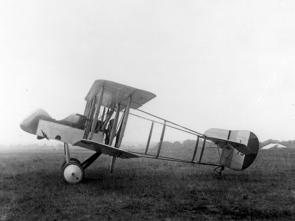 One of the early Airco made, de Havilland made aircraft. Photo credit: Wikipedia.