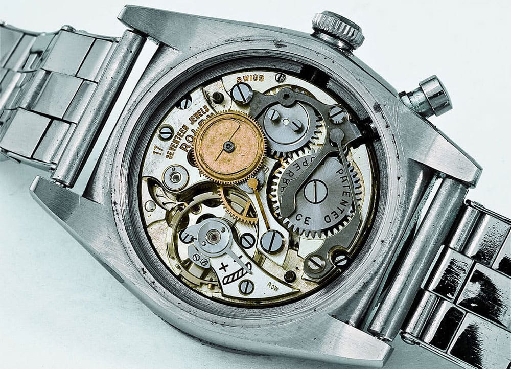 Rolex Ref. 3346 'Zerographe'. Photo courtesy of Christie's
