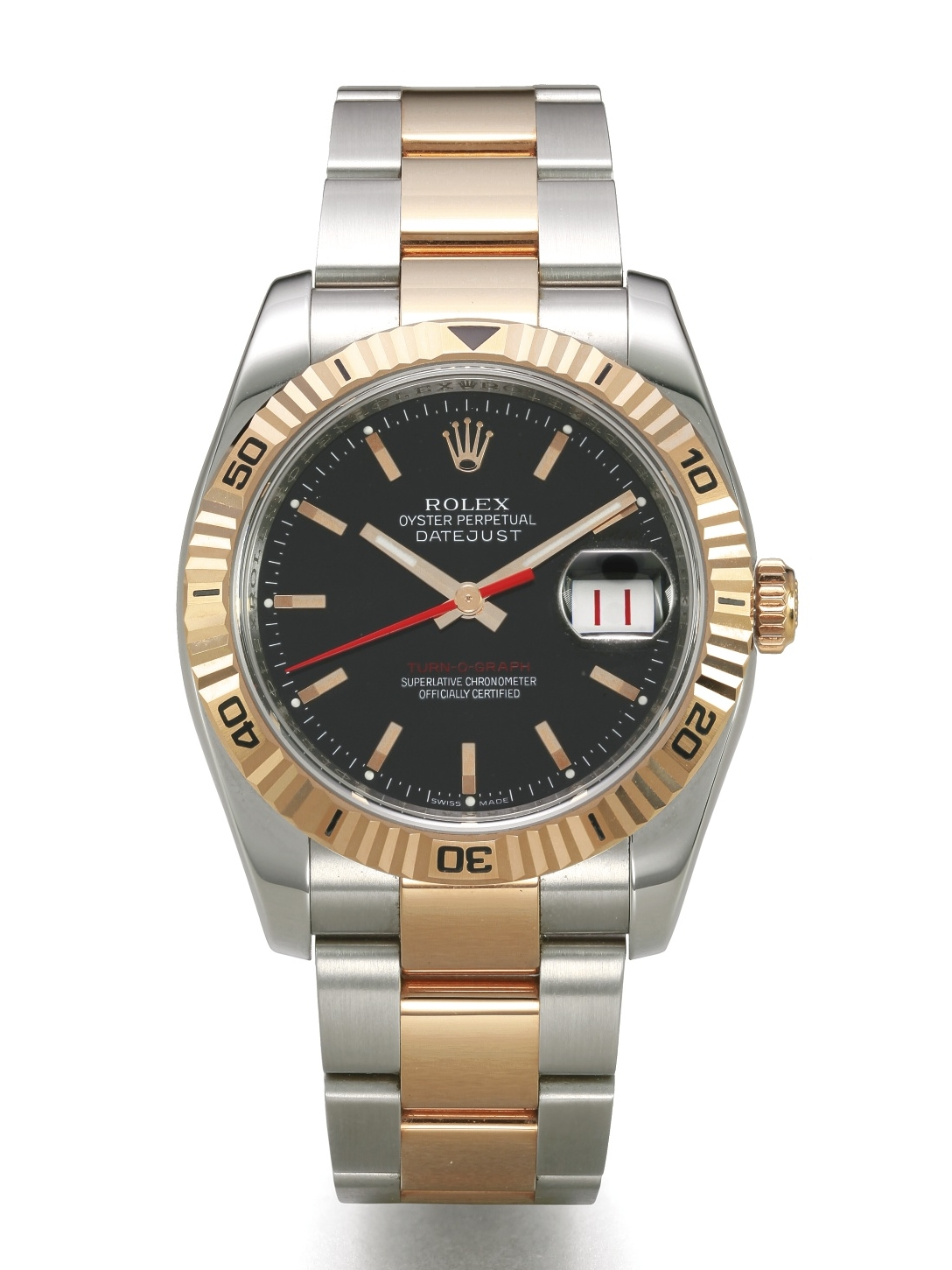 Rolex Datejust Turn-o-graph Ref. 116263.