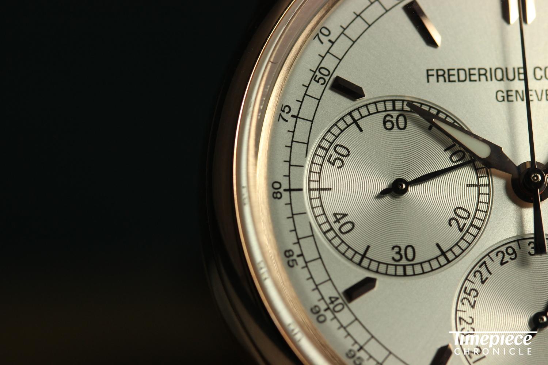 FC Flyback Chronograph dial macro 3.JPG