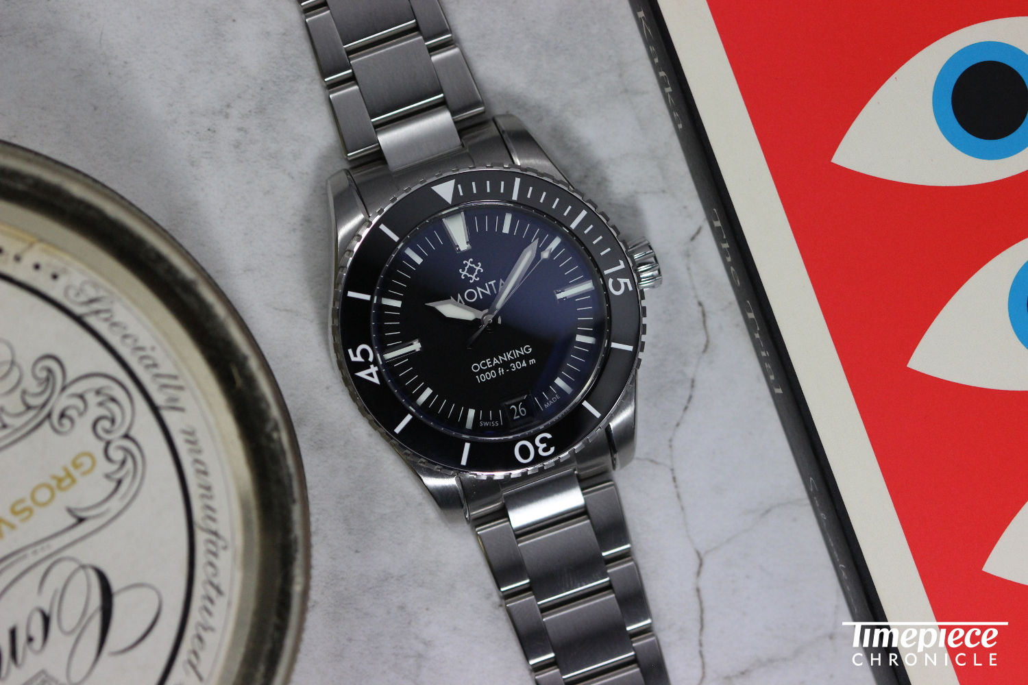 Monta didn't have a catalog to fall back on when designing a watch and instead were inspired by the ethos and culture of dive watches from the 1950s and 1960s.