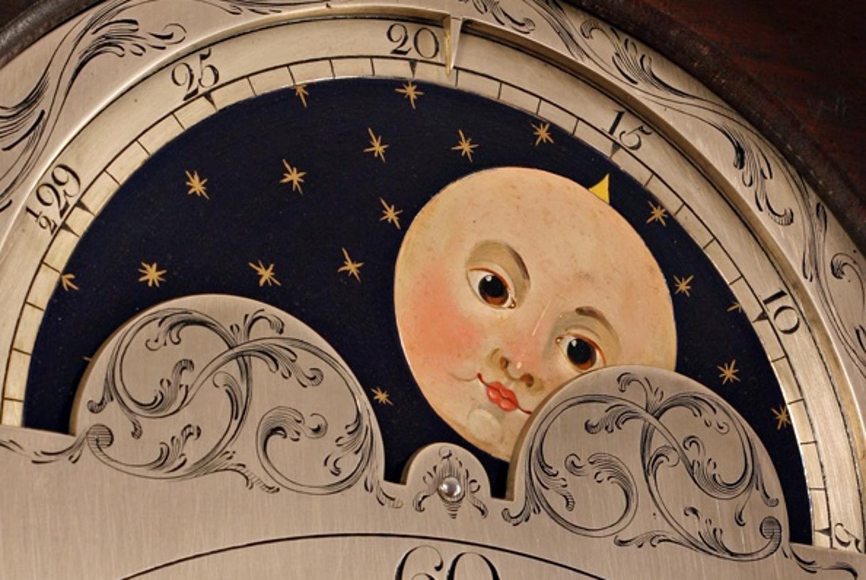 An 18th Century Long case clock