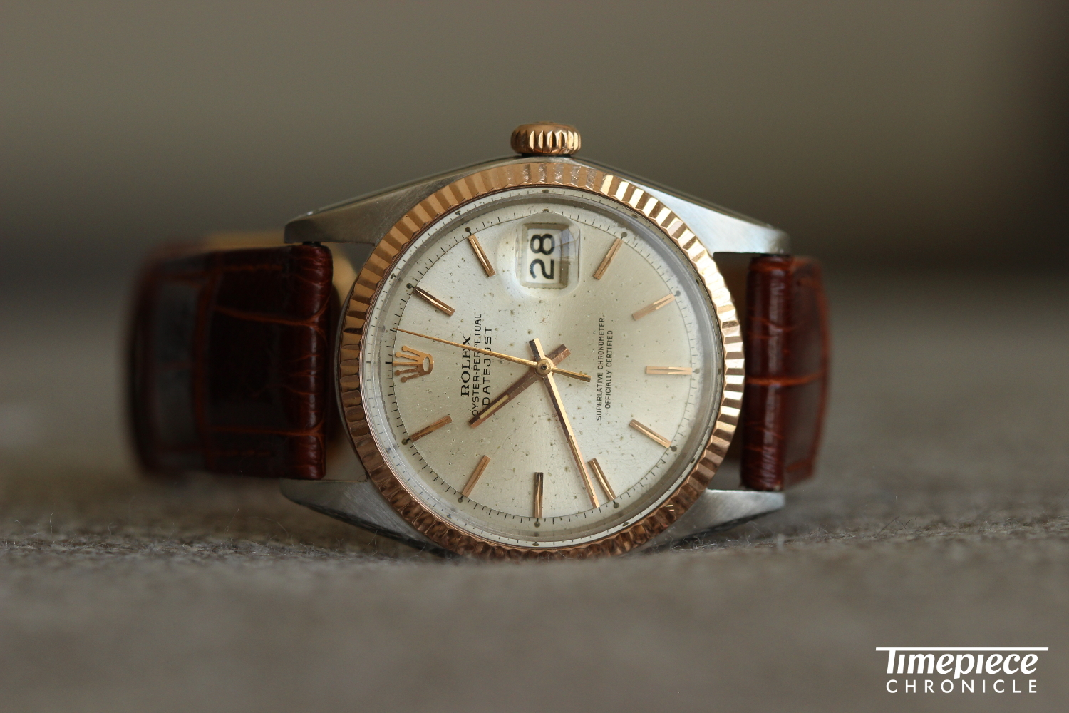 My review of this Rolex Ref. 1601 with pink gold bezel, soon to be available at Theoandharris.com, will be going live this Friday. Be sure to check back in!