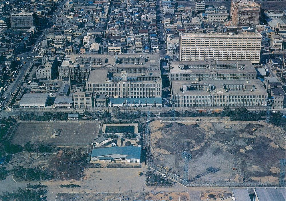 The Suwa Seikosha Factory, circa 1970