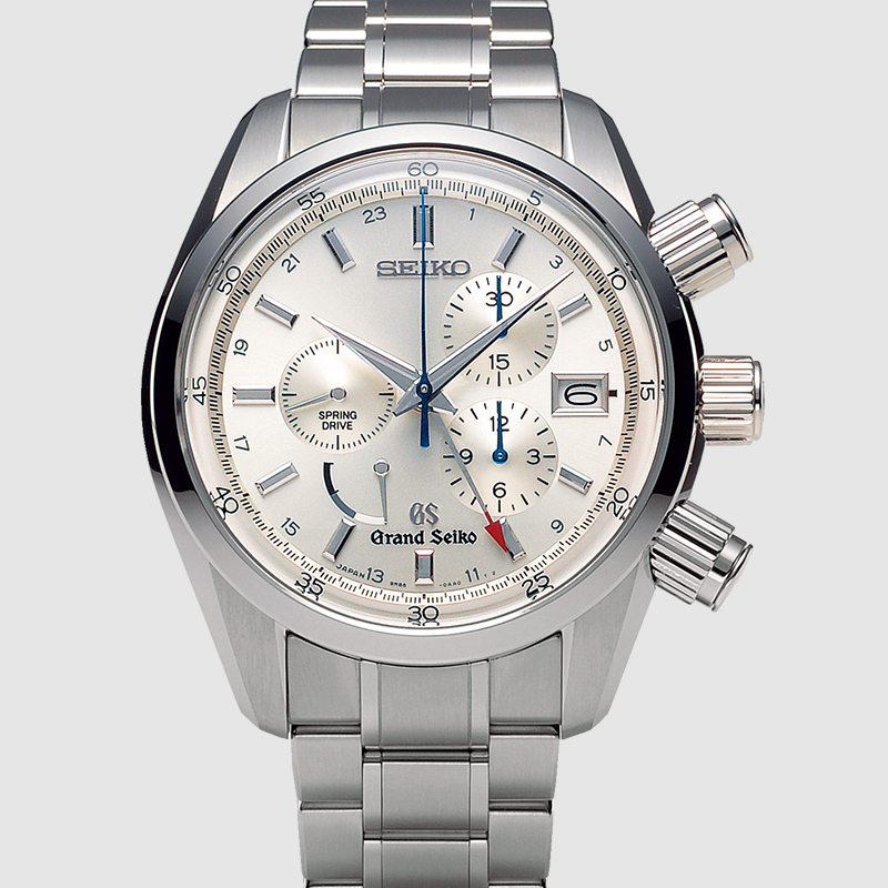 2007 - 9R8, the first Spring Drive Chronograph GMT