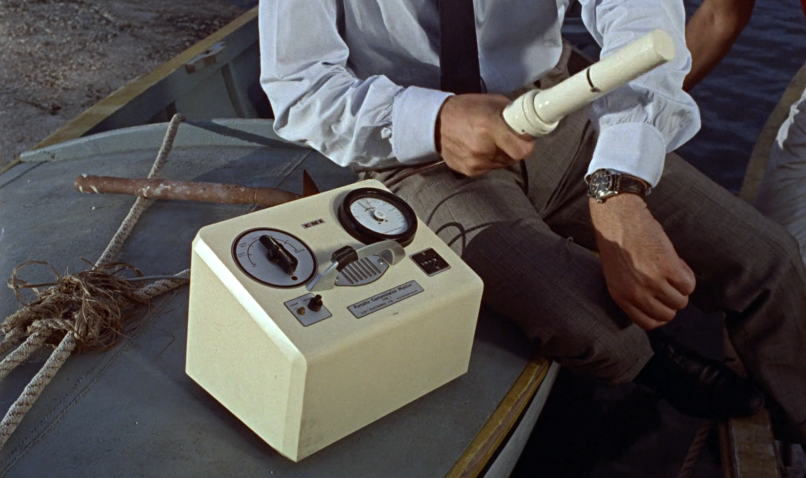 The Rolex Submariner Ref. 6548 seen in  Dr No .