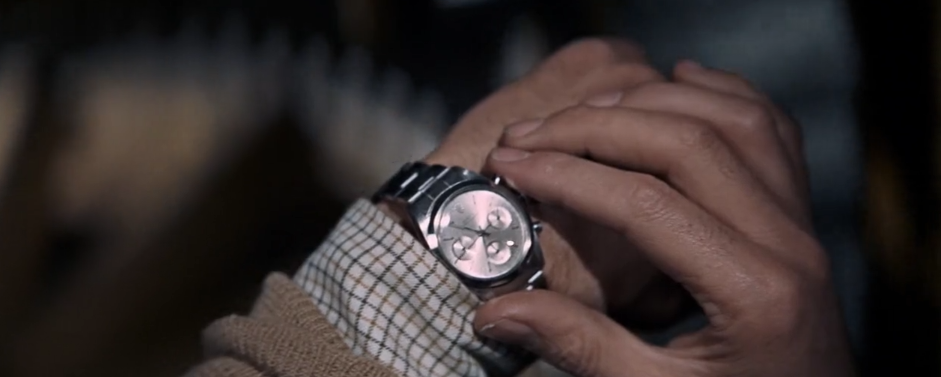 The first and only time a Rolex chronograph is seen in James Bond.