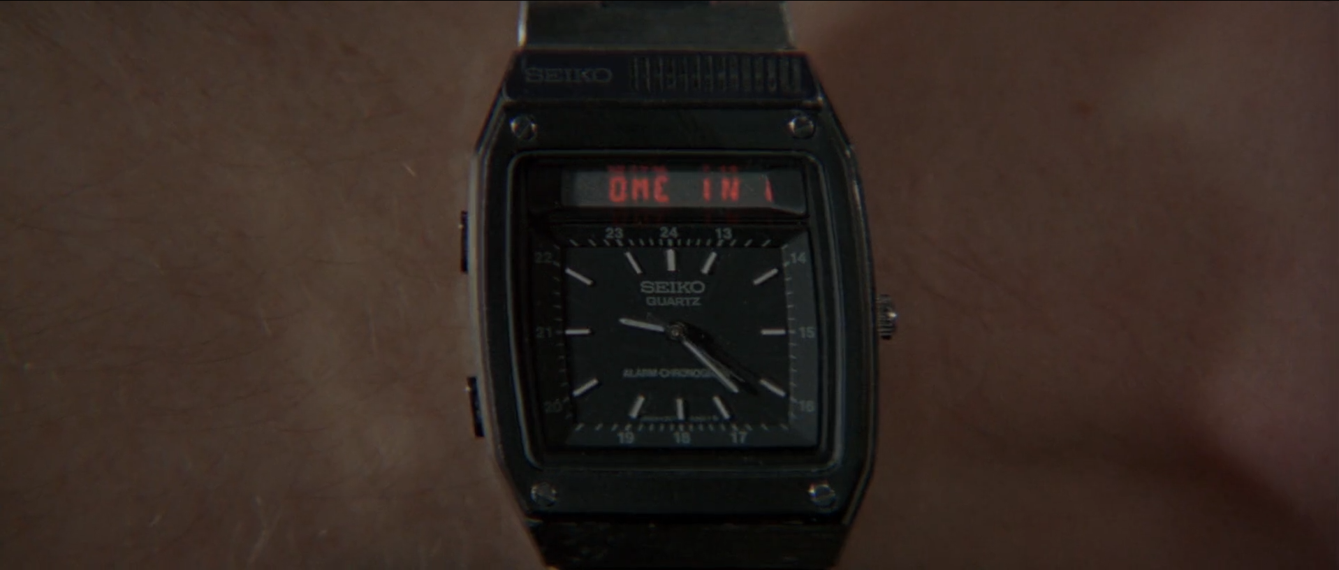 The Seiko Ref. H357 Duo-Display from  For Your Eyes Only