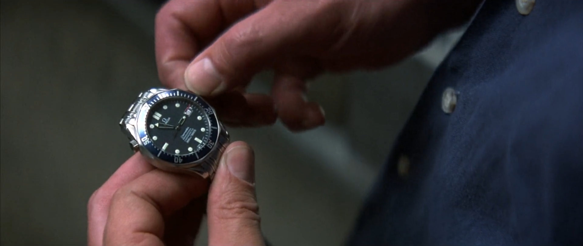 It's unclear in the context of the film whether this is an MI6 issued Omega that the Chinese acquired, and then modified, OR whether it's a Chinese copy of an Omega.