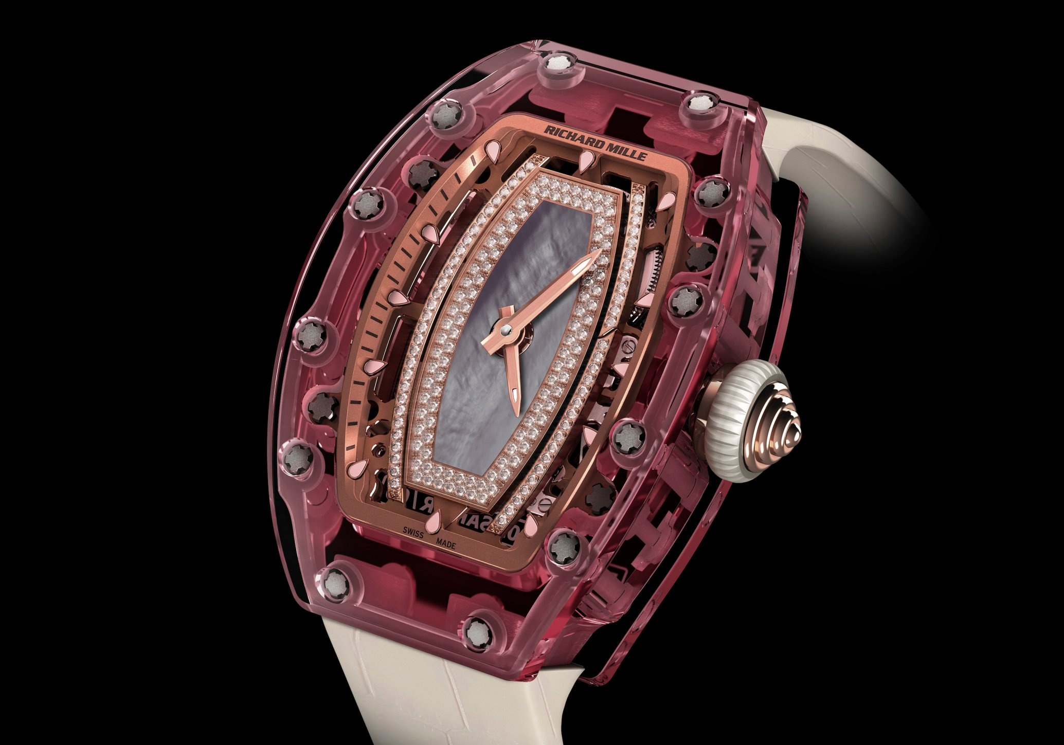 The Richard Mille 'Pink Lady' Ref. 0702. Photo courtesy of Richard Mille.