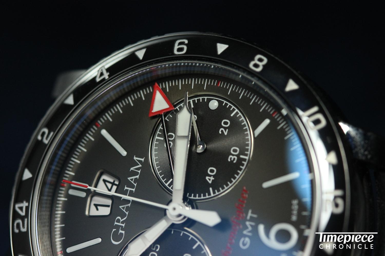 Graham Chronofighter Vintage GMT Dial macro 7.JPG